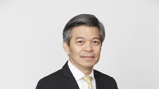 Aphisak Kiewkarnkha, Senior Executive Vice President, Head of Finance and Investment Stock Exchange of Thailand.