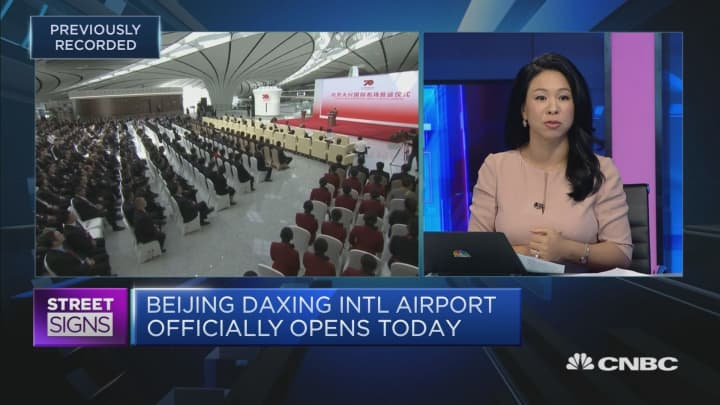 China's new Beijing Daxing International Airport opens