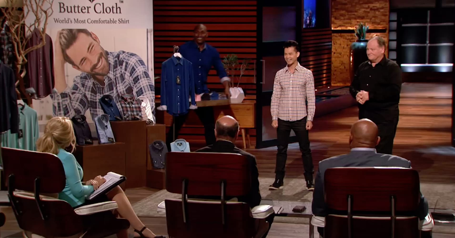 Founder of comfortable menswear brand talks surge in sales after 'Shark Tank' pitch
