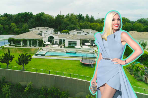 Inside Gwen Stefani's former Beverly Hills estate that just sold for $21.65 million