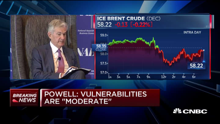 Powell: Negative rates not an ideal tool in our institutional context