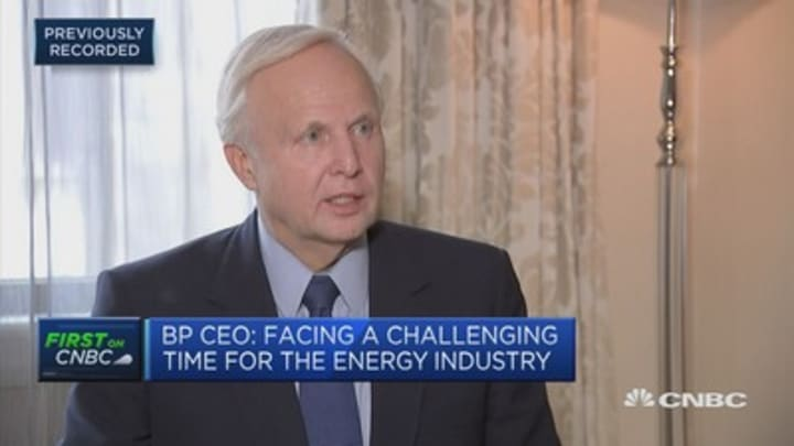 We cannot carpet the world with renewables fast enough, BP CEO says