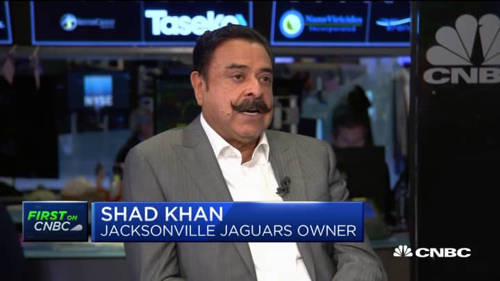 Shad Khan: We're entering a manufacturing 'golden era'
