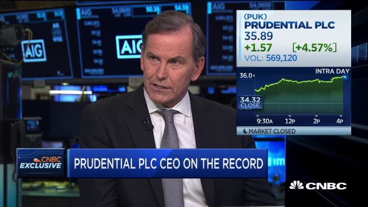Prudential PLC CEO on China trade, company's growth in Asia and Brexit