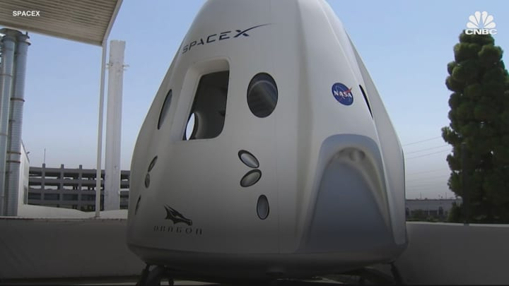 Elon Musk: SpaceX spent 'hundreds of millions' extra on NASA astronaut capsule