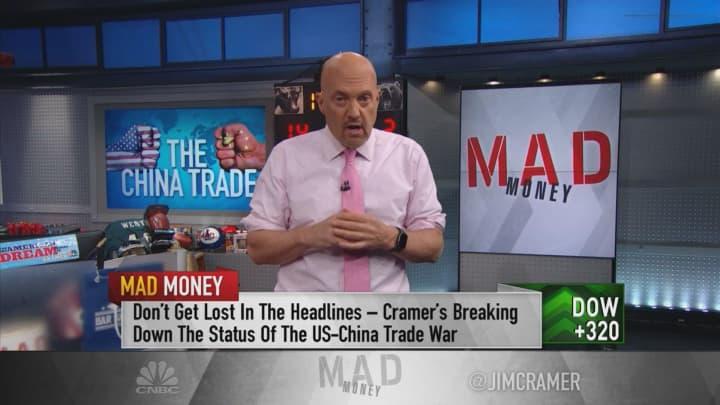 Jim Cramer: It looks like Trump's trade strategy is working