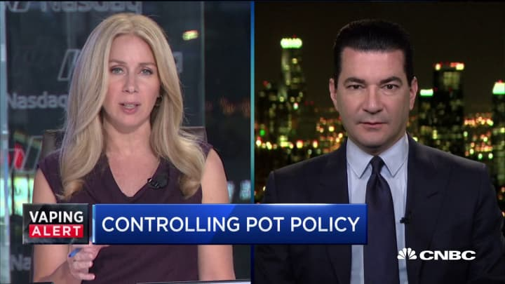 Why Scott Gottlieb is calling on the federal government to regulate marijuana