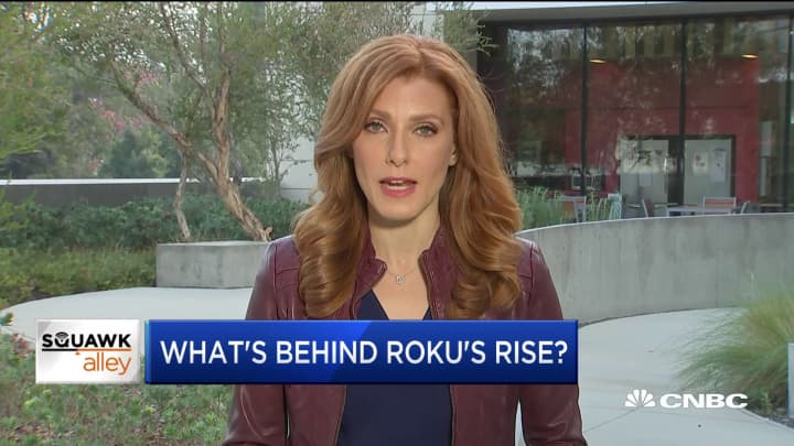 Here's what's behind Roku's rise in the market