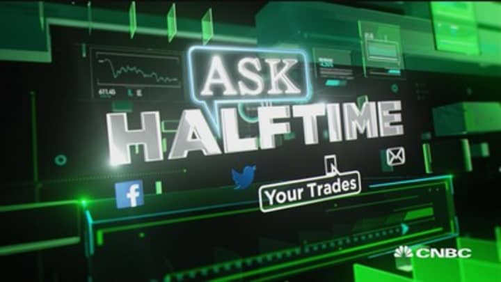 Buy or sell Slack? Buy B&G foods here? #AskHalftime