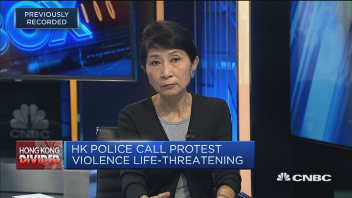 Hong Kong police have acted like proxies for China's army: Lawmaker