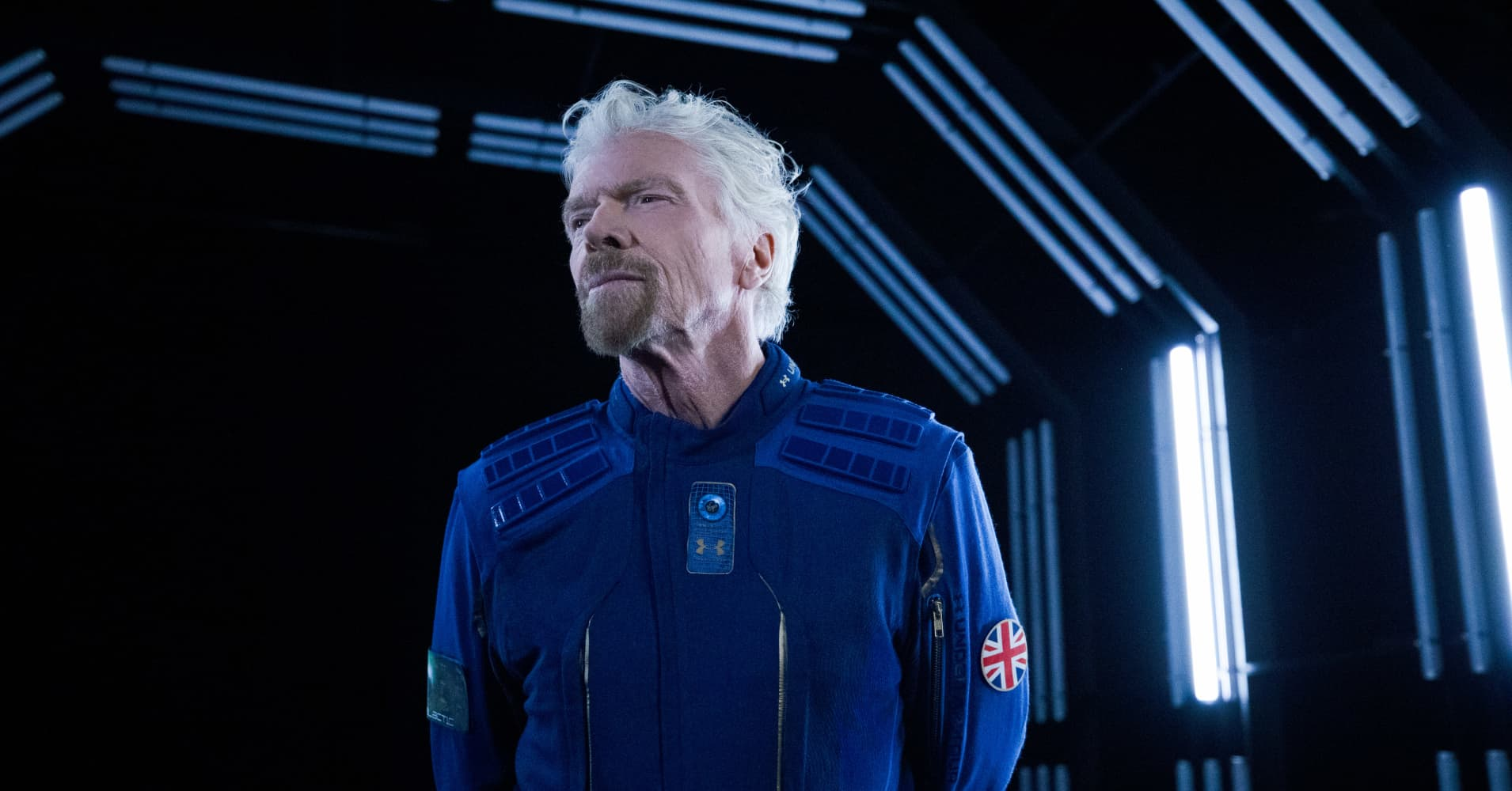 cnbc.com - Michael Sheetz - Virgin Galactic and Under Armour unveil spacesuits for the first space tourists to wear next year
