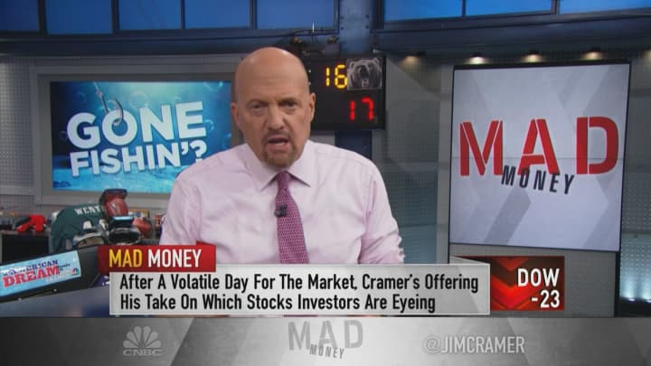 The big banks have become the ideal stocks for this market, Jim Cramer says