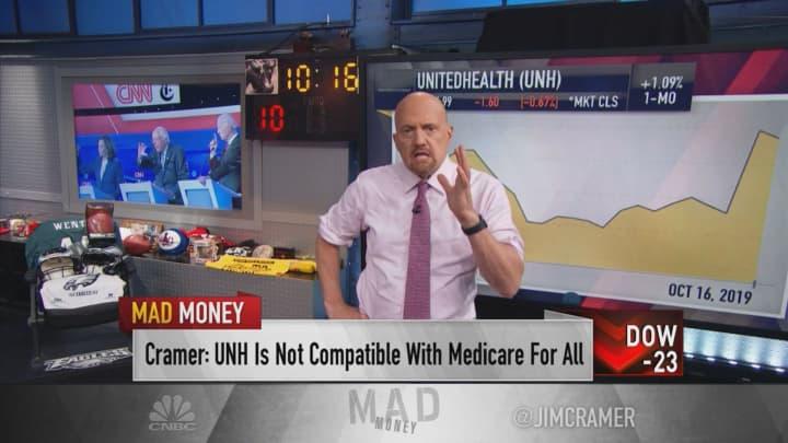 Jim Cramer explains why UnitedHealth's stock spiked on third-quarter earnings