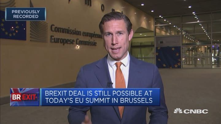 Brexit deal still possible at today's EU summit