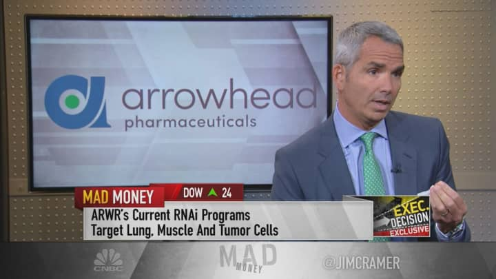 Arrowhead CEO breaks down drug partnerships with Johnson & Johnson and Amgen