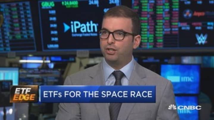 Space is 'truly a global collaborative industry,' says man behind UFO ETF