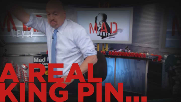 Cramer Remix: No stock can match the pin action of these players