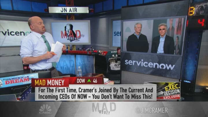 ServiceNow CEO: Brexit, macro headwinds aren't stopping businesses from spending on digitization