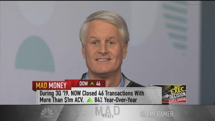 ServiceNow CEO: Macro headwinds have not hurt digital spending