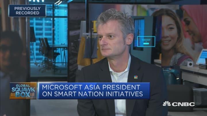 Microsoft Asia president on the firm's innovations regionally