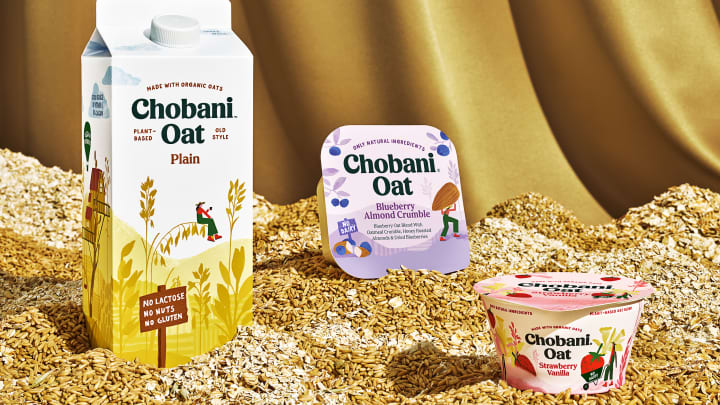 Chobani's new oat milk and oat-based yogurts