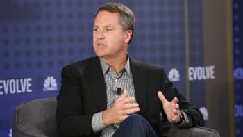 Walmart CEO Doug McMillon speaks at the CNBC Evolve conference November 19th in Los Angeles.