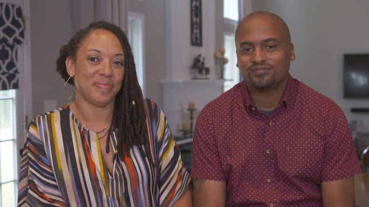 Ronnie and Lamar Tyler, founders of website Black and Married With Kids.