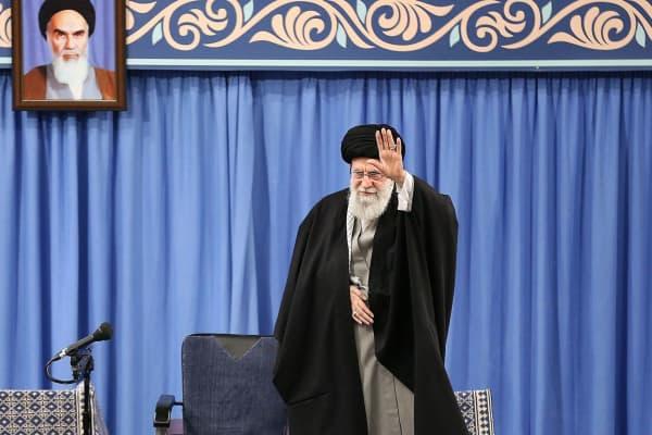 Iran's supreme leader Ayatollah Ali Khamenei just called Trump a 'clown'