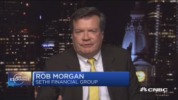 Morgan: The market is looking for an excuse to pull back