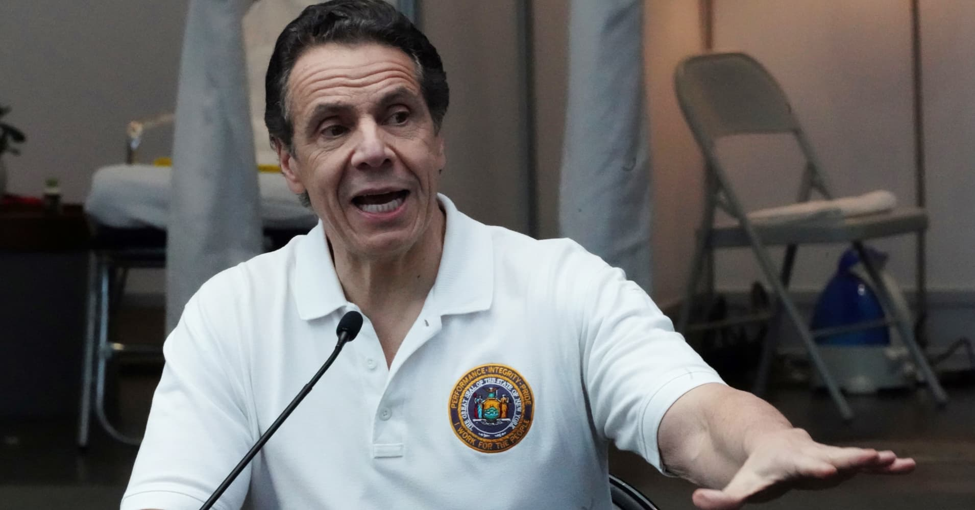 Watch live: New York Gov. Andrew Cuomo holds a press conference on the coronavirus