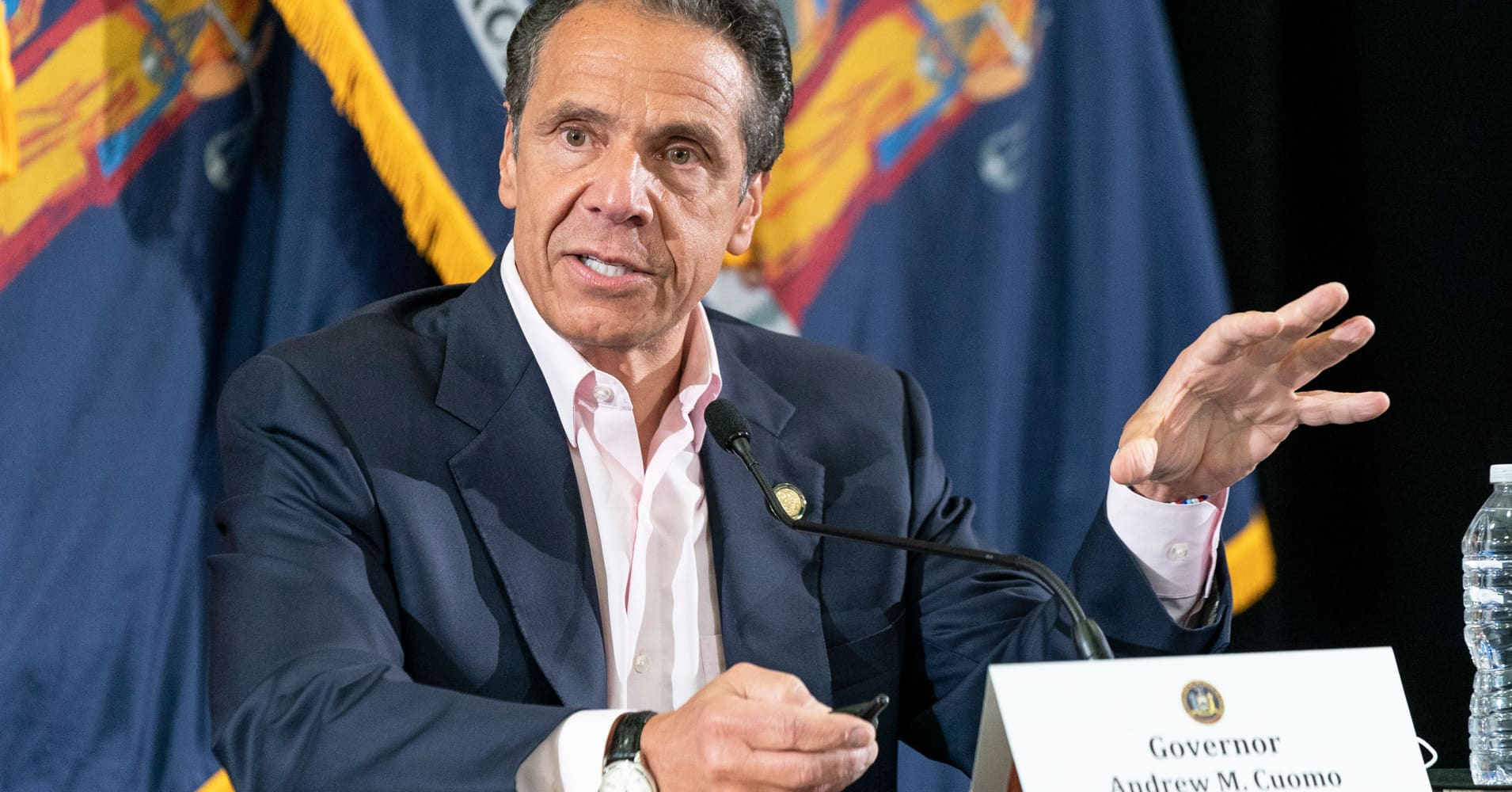 NY Gov. Andrew Cuomo holds press conference on coronavirus amid George Floyd protests