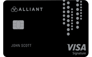 Best for Cash Back: Alliant Cashback Visa® Signature Credit Card