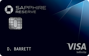 Best for Luxury Travel: Chase Sapphire Reserve®