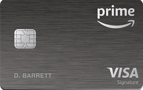 Best for No Spending Required: Amazon Prime Rewards Visa Signature Card