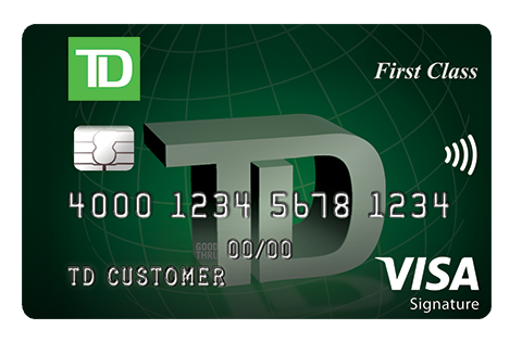 Best for Low Interest: TD First Class℠ Visa Signature® Credit Card