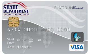 SDFCU Savings Secured Visa Platinum Card
