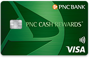 Best for Dining Out and Gas Stations: PNC Cash Rewards® Visa®