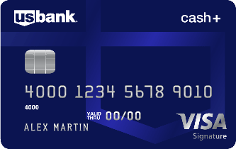U.S. Bank Cash+™  Visa Signature®