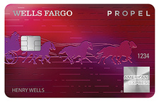 Runner-Up: Wells Fargo Propel American Express® Card