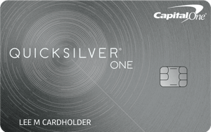 Best for Cash Back: Capital One® QuicksilverOne® Cash Rewards Credit Card