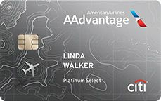 Best for American Airlines: Citi® / AAdvantage® Platinum Select® World Elite™ Mastercard®