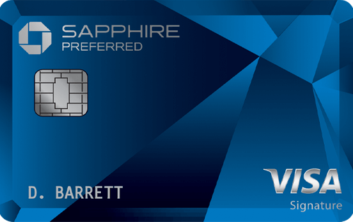 Best Travel Card: Chase Sapphire Preferred®