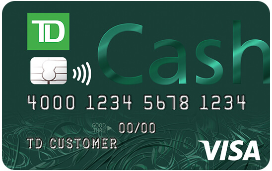 Winner: TD Cash Credit Card