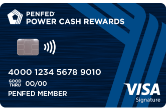 PenFed Power Cash Reward Visa Signature® Card
