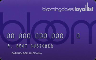 Bloomingdale's Credit Card