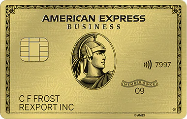 The American Express® Business Gold Card