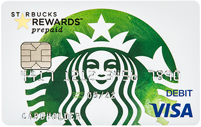 Starbucks® Rewards Visa® Prepaid Card