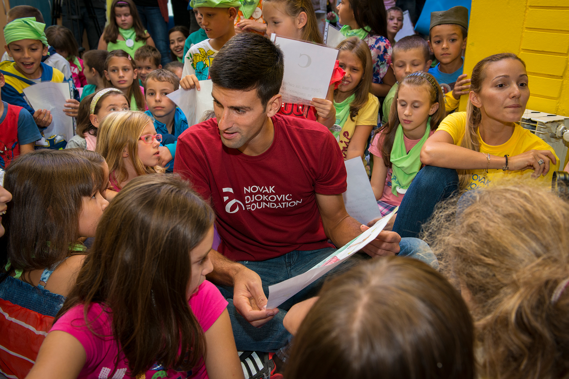 Novak Djokovic Number One Men S Tennis Player And Charity Founder